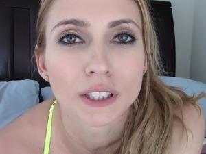 Blonde webcam goddess 2
