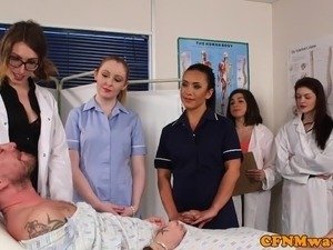 Big tits nurse blonde cfnm studs girls