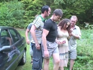 Gang bang Adult Video