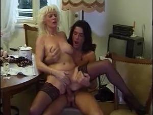 wife fucking stockings video