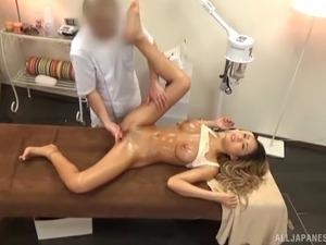 naked girls being massaged