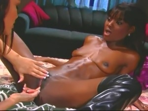 Ebony in love porn