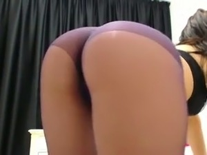 aison rose in black pantyhose vids