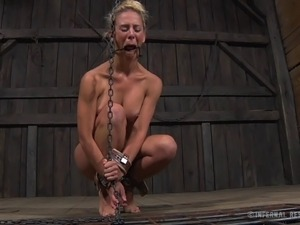Two lucky ladies like being tied up together for a BDSM session
