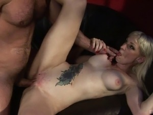 Sofia Valentine is great at bouncing on her handsome man's fat cock