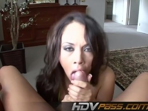 Kristina Rose Sucking a Big Dick in POV View