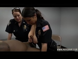 Bound and gagged milf and 4 girl cops Milf Cops