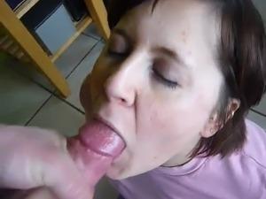 I cum in mouth my wife