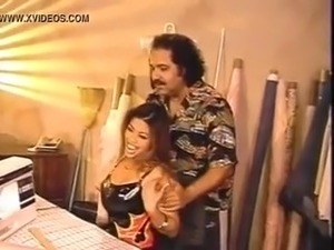 Kristy Lee and Ron Jeremy