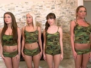 Military marine girls nude women
