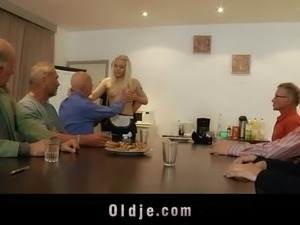 Sexy Young [censored] Taylor Gangbang Fuck Old Young Porn