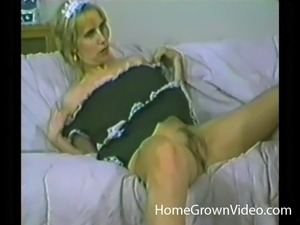 Blonde eye candy sucking and riding a dick lustfully