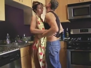 kitchen porn mom galleries