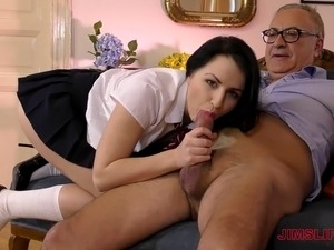 Cutie Kittina will get smacked by an older gentleman and love it