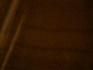 Wearing sleeping mask brunette MILF with big tits masturbated her slit