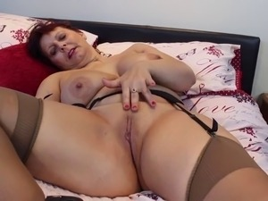 Real mother and wife with big tits and hot body