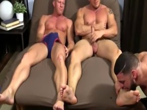 Boys humping feet and massive gay story Ricky Hypnotized To Worship