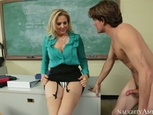 Julia Ann Tyler Nixon in My First Sex Teacher