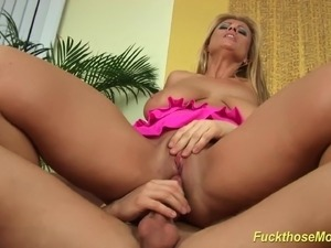 My horny big natural breast MILF needs a strong cock deep inside her wet pussy