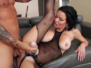 sexy black cougar x video
