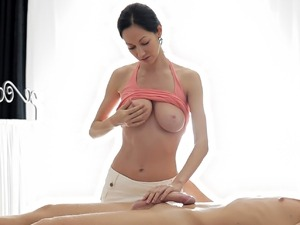 Amazing cock massage