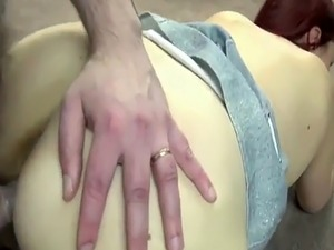 Mature swinger Lia Shayde takes some dick from a geek