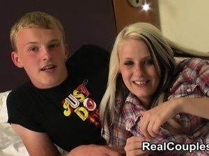 young british teen couple getting it on amateur