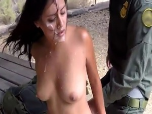 Fake cop cheating wife and border patrol anal They gave pursue in thei