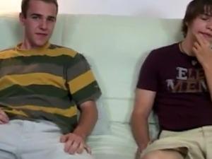 Videos boy kissing a straight sleeping gay Robert got off