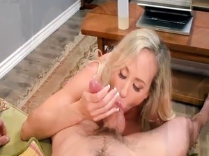 Huge titted mom Brandi Love pussy reamed by younger dude