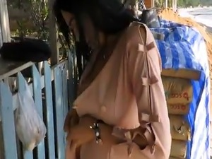Hot Ladyboy Candy Public Nude And Shower