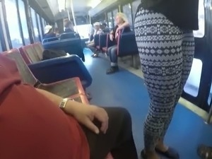 On bus sex porn public