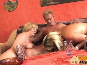 Milf gets rough fucked and used