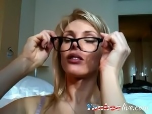 Big ass MILF fucked and facialized on webcam - YankeeLive.com