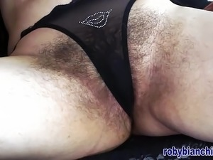 Over40 with hairy pussy! Directed by Roby Bianchi
