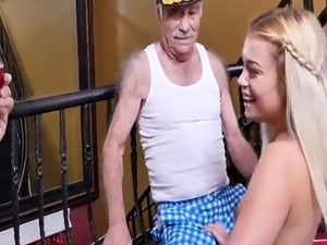 Old teacher fucks young student He had this broad wailing with a throa