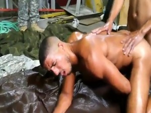 Military gay gangbang first time Fight Club