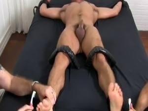 Gay sleeping sex feet Dominic Pacifico Tickled Naked