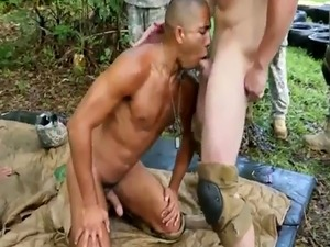 Mature gay army fuck movie this week we have a fresh cadet in training