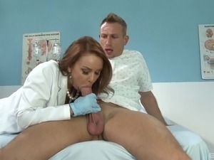 Doctor Janet Mason needs big cock sex with the patient