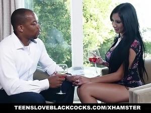 wife fucks first black guy