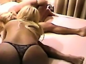 Blonde mature amateur milf wife fucking while hubby films
