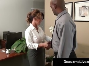 black ebony legs mature secretary pornhub