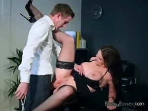 Hot Vixen Marie Clarence Gets Demolished By CEO3.wm