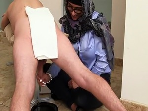 Arab wife share Black vs White  My Ultimate Dick Challenge.