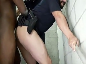 Sex police gay movietures Fucking the white police with some chocolate