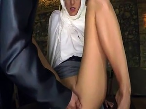 American soldier arab Hungry Woman Gets Food and Fuck