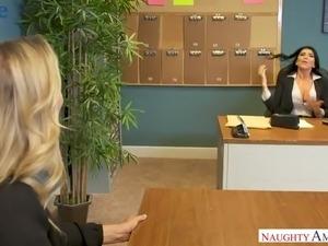 japanese office girl masturbating on video