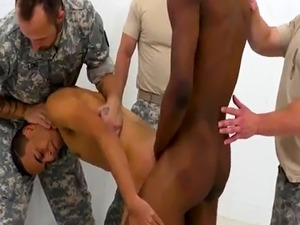 Gay dick army gall R&R  the Army69 way