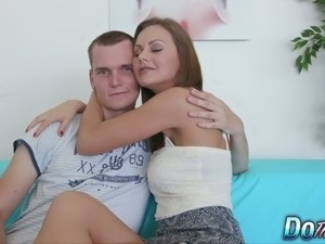 cute girl blowjob free